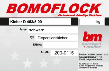 Kleber D-453/5-09 (schwarz)