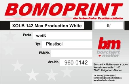 XOLB-142 Max Production White