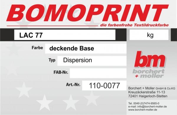 Bomoprint LAC 77