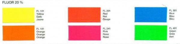 Bomoprint Fluo-Farbpigmente