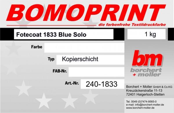 Fotecoat 1833 Blue Solo