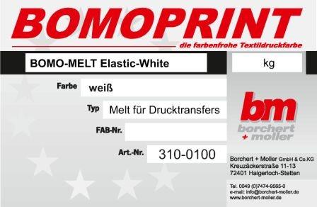 Bomo-Melt Elastic White