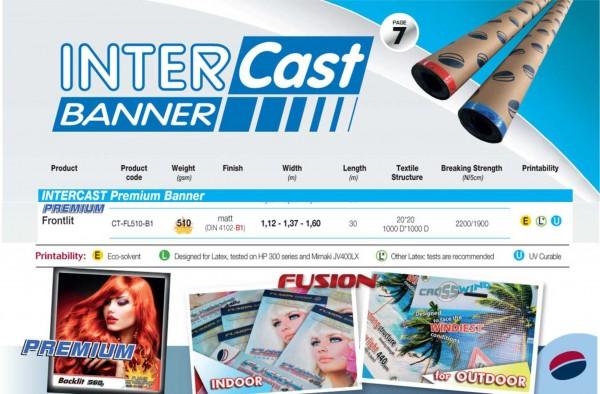 Intercast & Banner Premium Frontlit 510