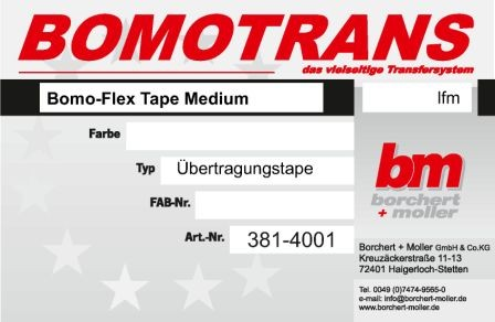 Bomo-Flex Tape Medium