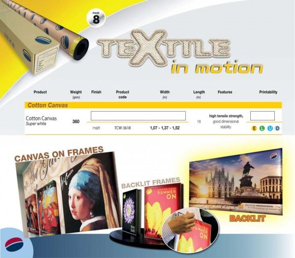 Textile Collection Cotton Canvas