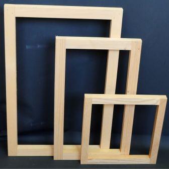 Holz-Schablonen